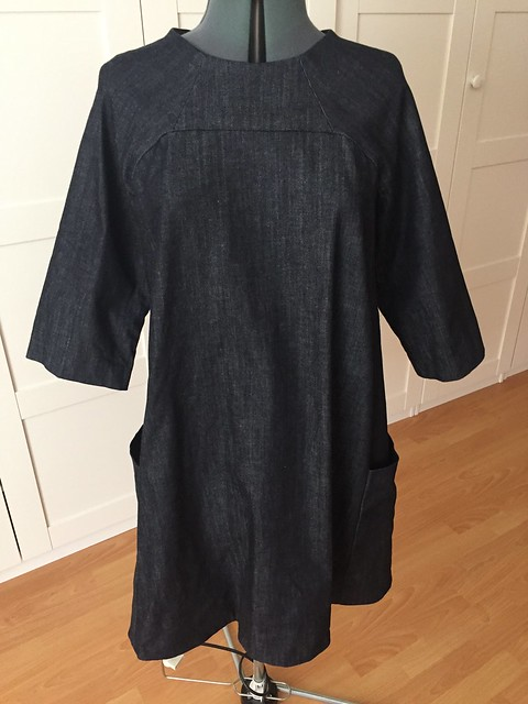 Rushcutter denim dress