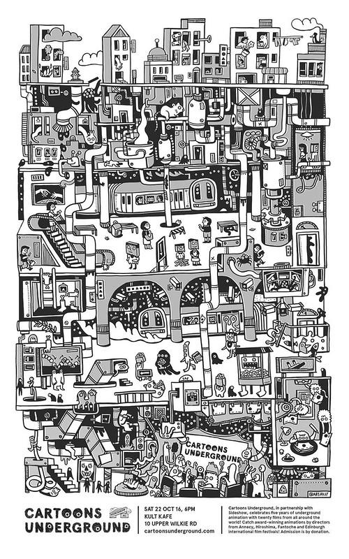 Cartoons Underground 2016
