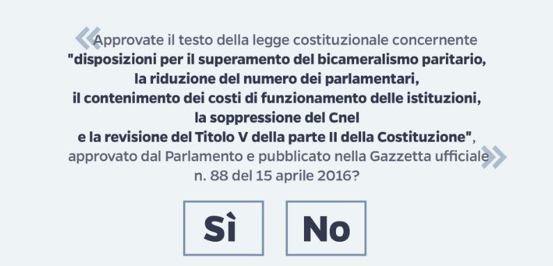 Risultati Referendum Costituzionale del 4 dicembre 2016 a Castel Bolognese