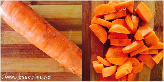 Carrot Soup Recipe for Babies, Toddlers and Kids - step 1
