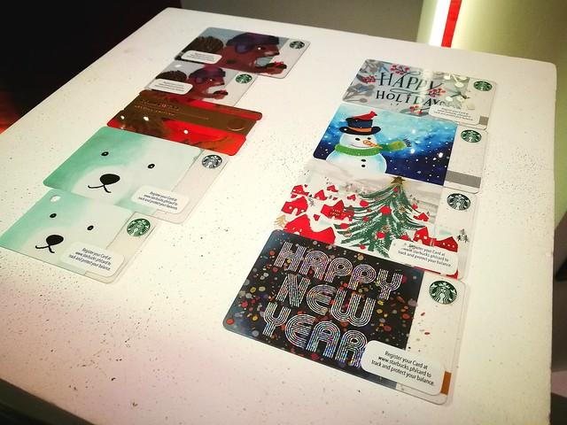 Starbucks Rewards Cards