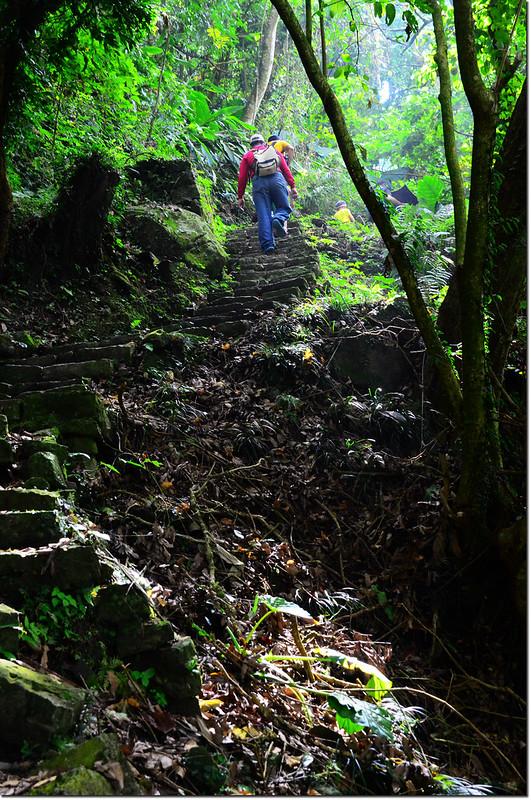 獨立山步道石階步道 1