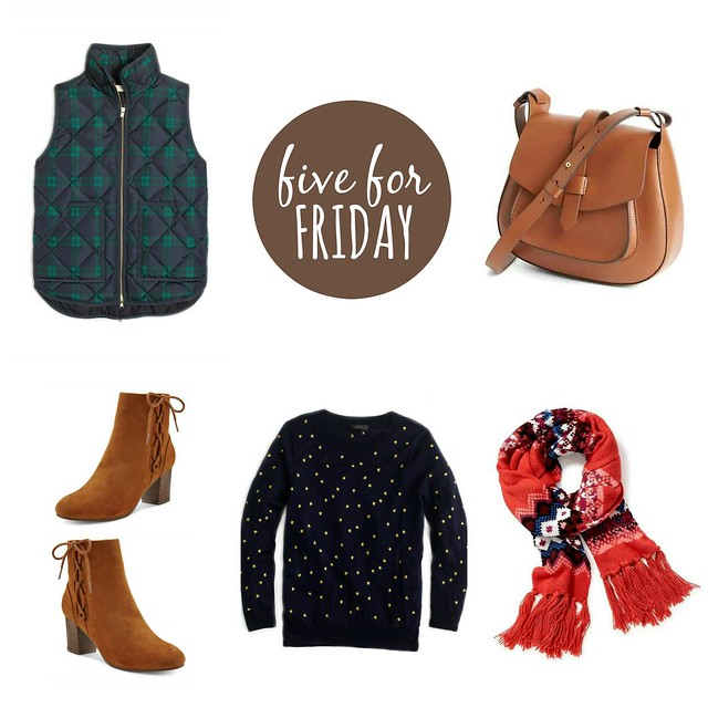 five for friday Cornucopia | Style On Target blog
