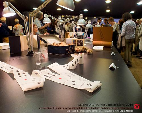 Llibre Dau, Ferran Cerdans Serra, exposició Arts Santa Mònica