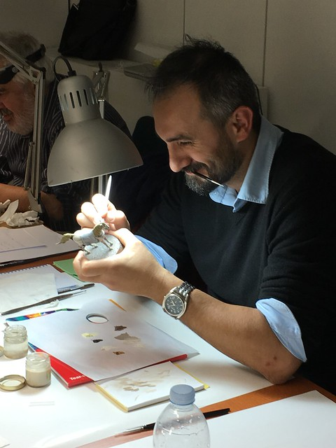 Corso di pittura di Davide Chiarabella a Verona.