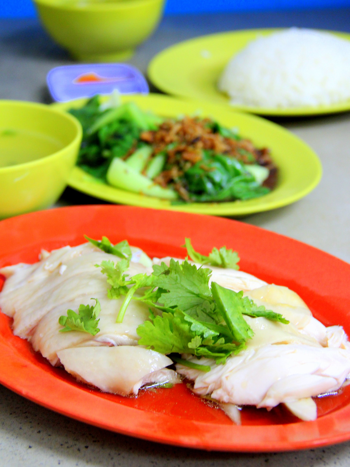 Orchard Road: Hainanese Chicken Rice