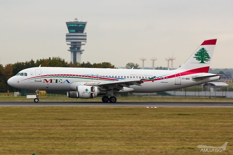 Middle East Airlines - A320 - T7-MRB (1)