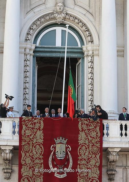 Cerimónia do 106º Aniversário da Implantação da República