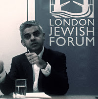 Sasiq Khan en London Jewish Forum