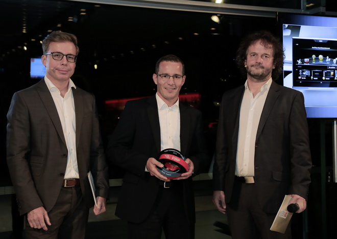 Award ceremony ?Car Connectivity Award 2016""