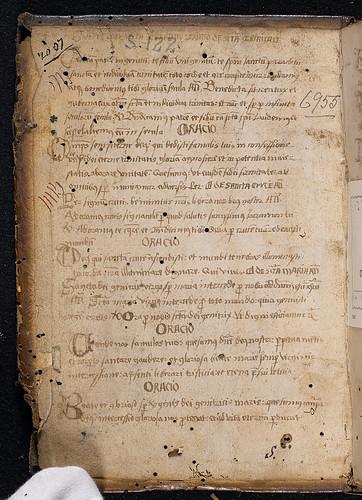 Breviarium Constantiense (Constance) - Manuscript prayers