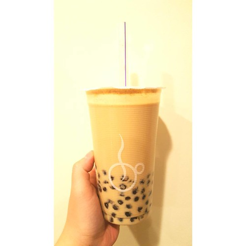Have you tried our azuki bubble milk tea? It's deeeelicious!