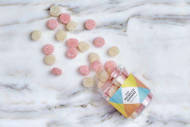 SugarSin Fizzy Prosecco Gummies Jar