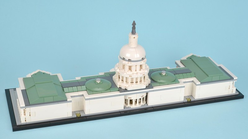 Review: 21030 United States Capitol Building | Brickset: LEGO set ...