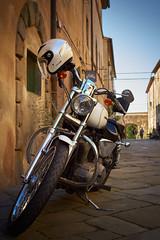 Harley-Davidson In Vintage Village