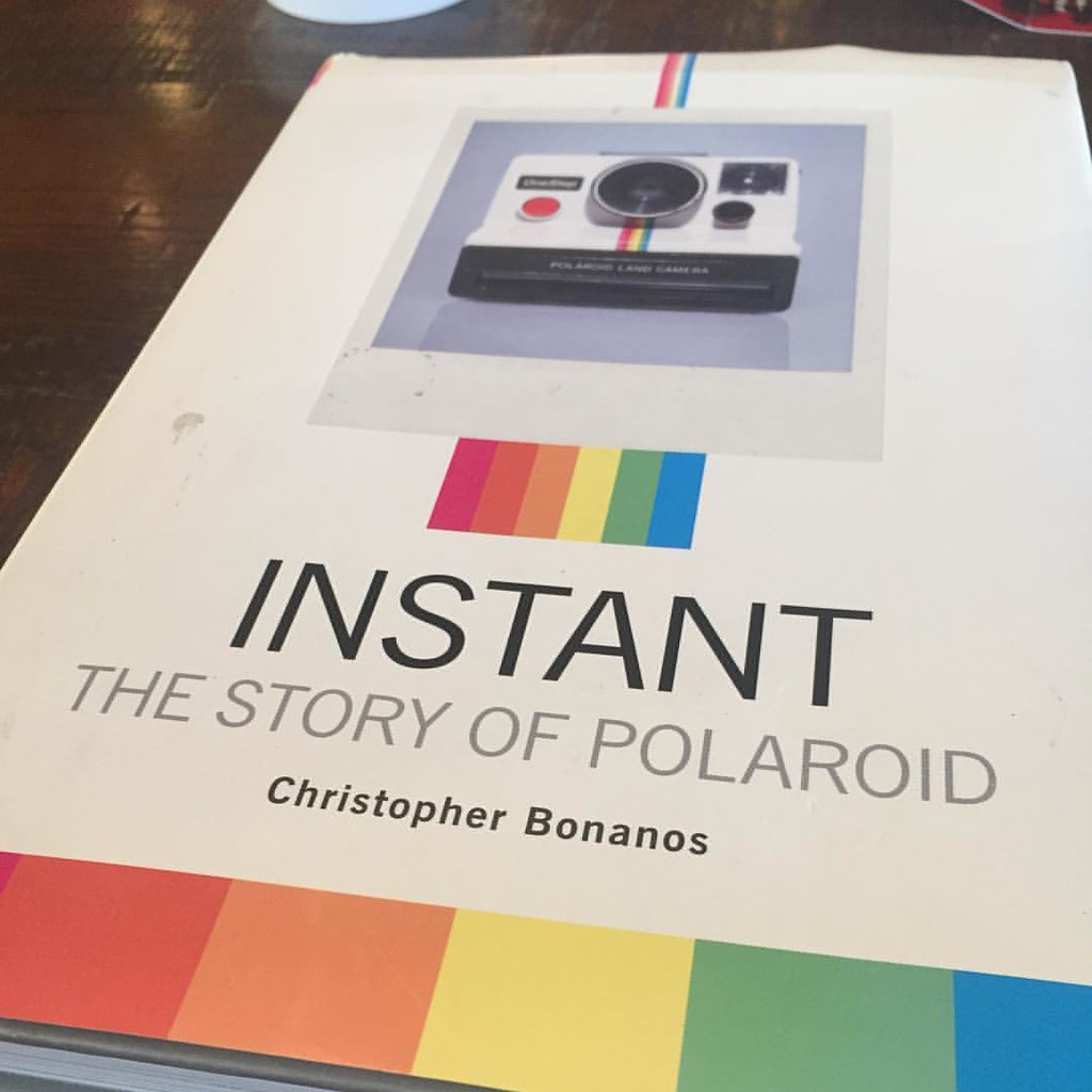 "Instant: The Story of Polaroid. Fascinating, even if you're not a photographer. Polaroid was the Apple of the post-war era, with a charismatic founder and a reputation for pioneering new products. ""Do what no one else is doing"" was their motto. #igdc #pol"