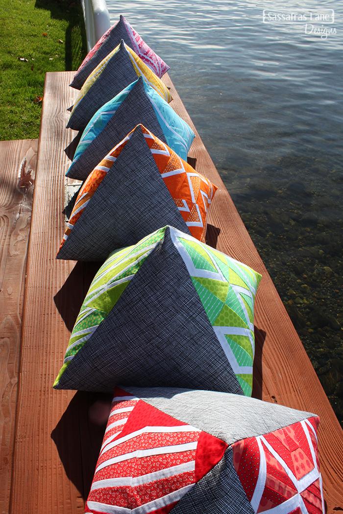 Paradox Point Pyramid Pillows