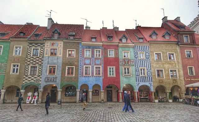 Fish Seller's Houses, Poznan