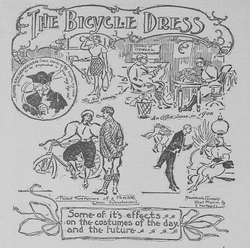 """""""The Bicycle Dress"""" 1895"""