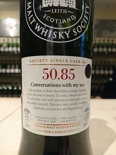 SMWS 50.85 - Conversations with my son
