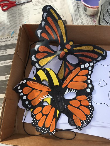 Monarch butterfly crafts