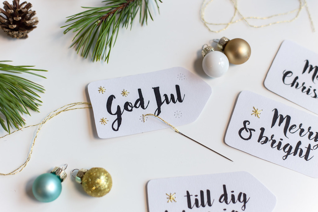 Monthly Makers: Free printable gift tag
