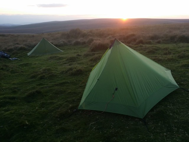 Day 6: Wildcamp below Crossways