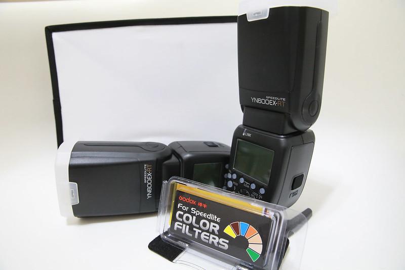 控光工具之一:無影罩與色溫片