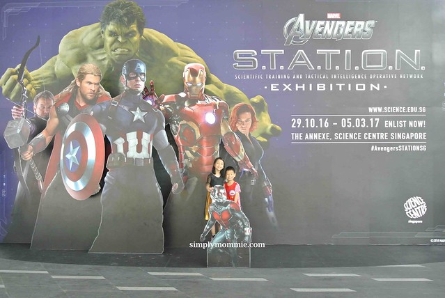Avengers STATION Exhibition Overview | Simply Mommie
