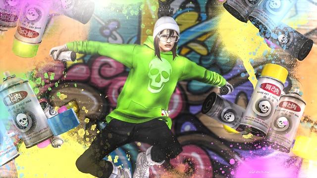 *katat0nik* Male Street Artist @CCB / HAYSURIZA_Goggles_Hiphop @CCB