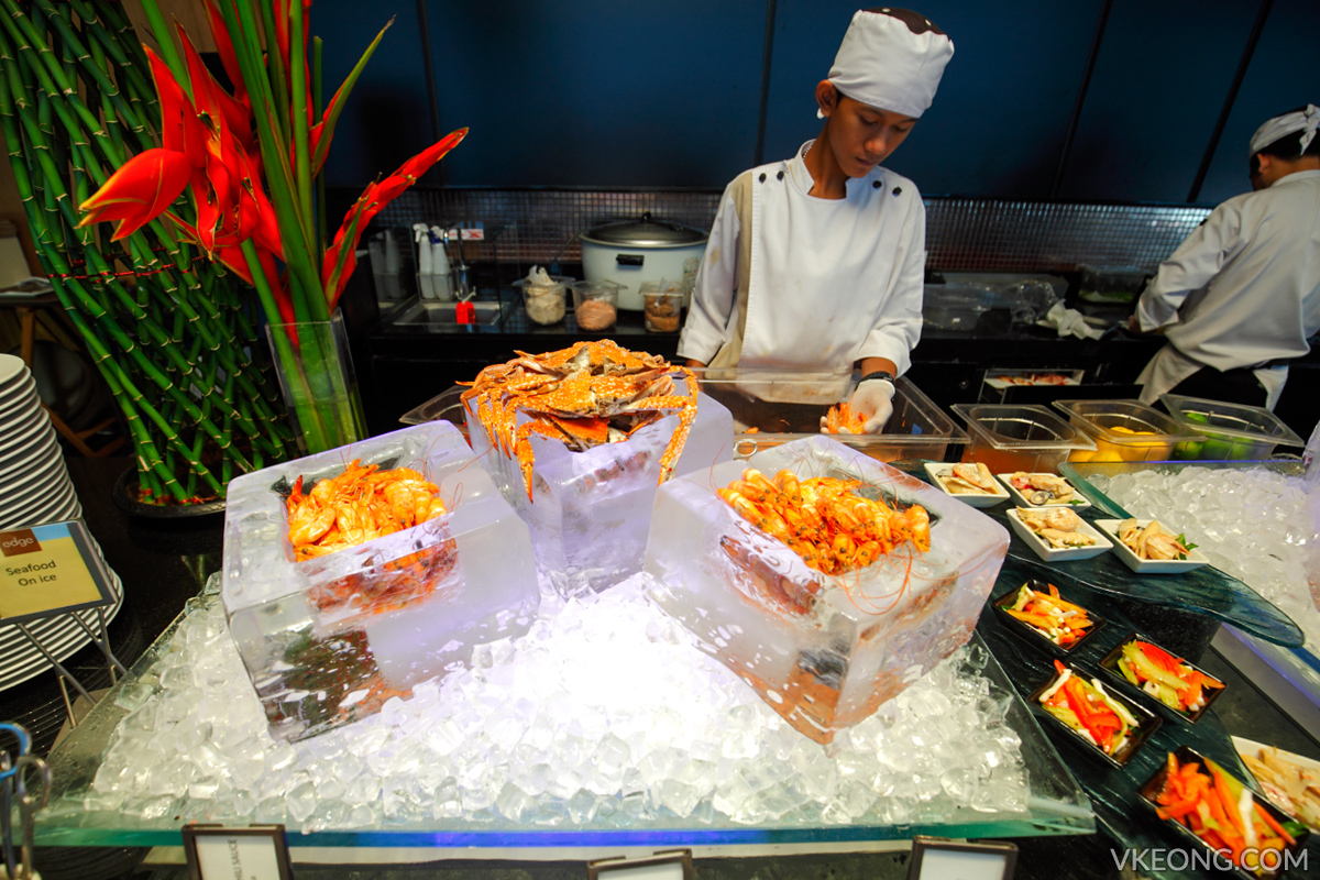 Edge Hilton Pattaya Buffet Seafood on Ice
