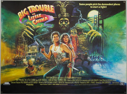 Big Trouble in Little China - Poster 4