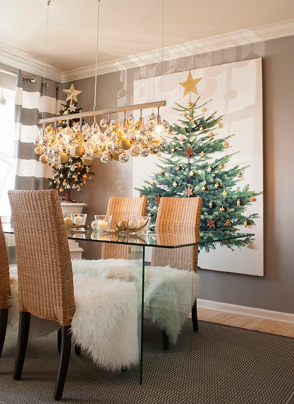 how to decorate for christmas in small spaces - Christmas Decorations For Small Spaces