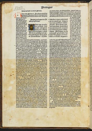 Biblia latina (Part III) - Illuminated initial