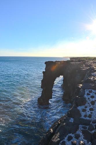Lava Rock Arch