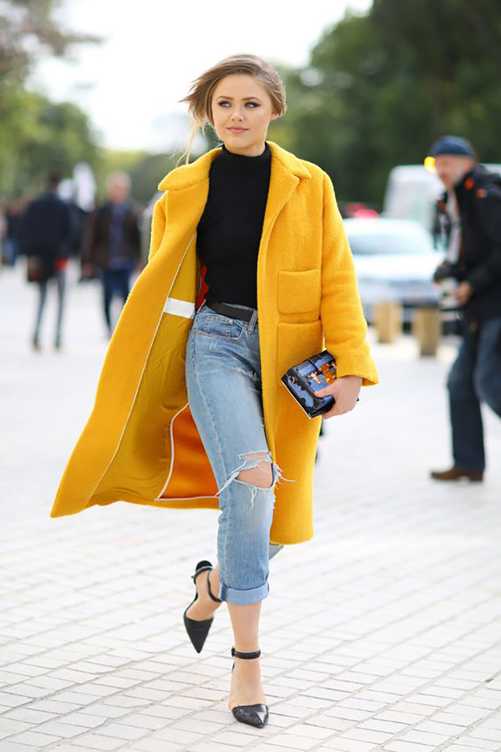 Coats streetstyle winter rainy day outfit accessories style fashion trend5