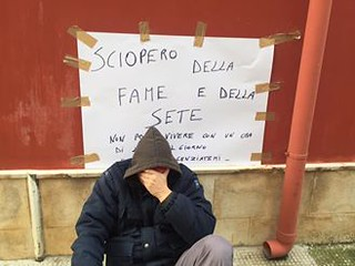 La protesta pacifica di Girolamo