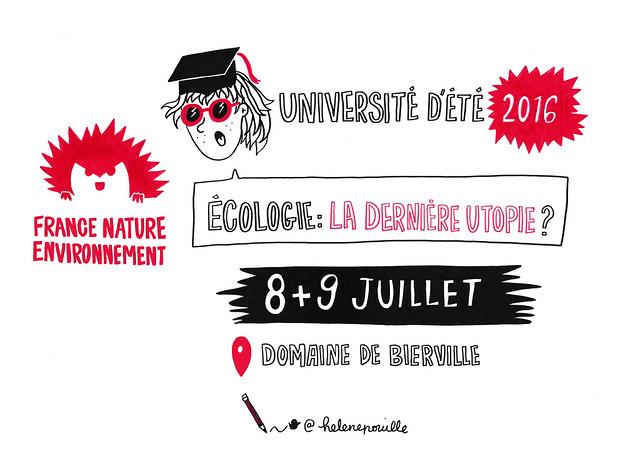 Écologie : la dernière utopie ? Les illustrations d'Hélène Pouille