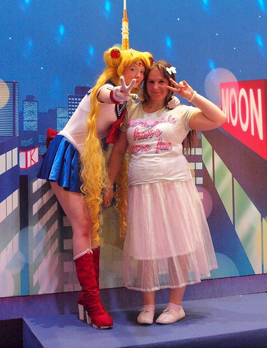 With Sailor Moon