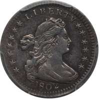 THE ELIASBERG 1802 HALF DIME