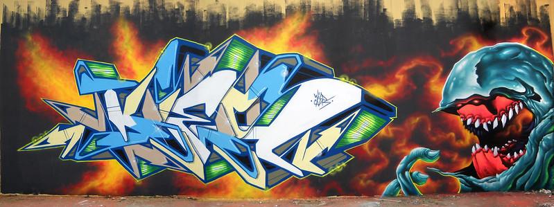 Kies.Totem.......city GANDIA 2016