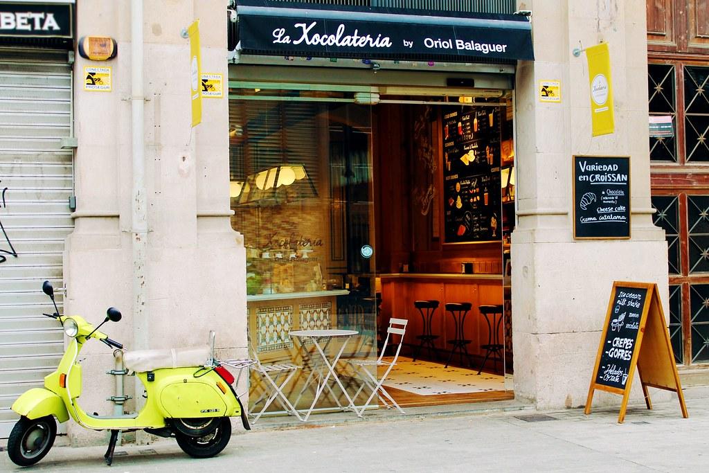 Guia de onde e o que comer em Barcelona - La Xocolateria by Oriol Balaguer