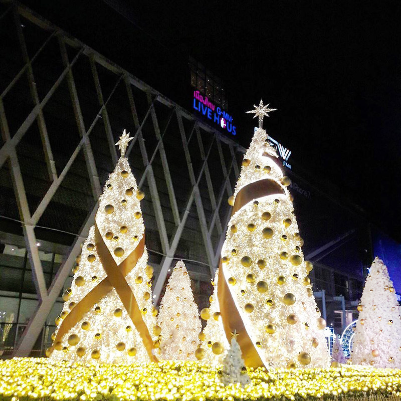 central world xmas 2016 trees