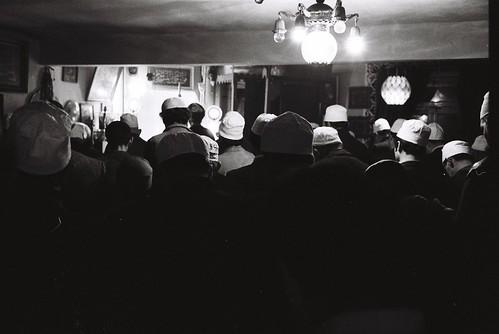 Dergah'da Namaz