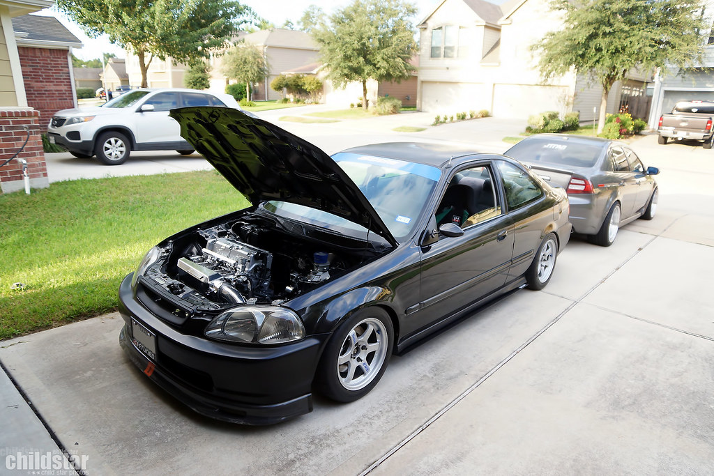 Calling all black 96 00 civic coupes page 33 honda for All black honda civic