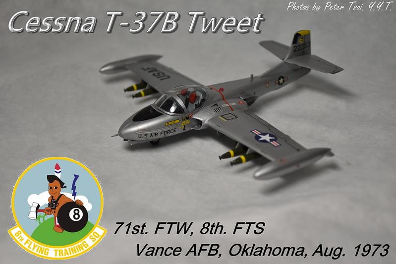 1/72 T-37B Tweet 71st. FTW
