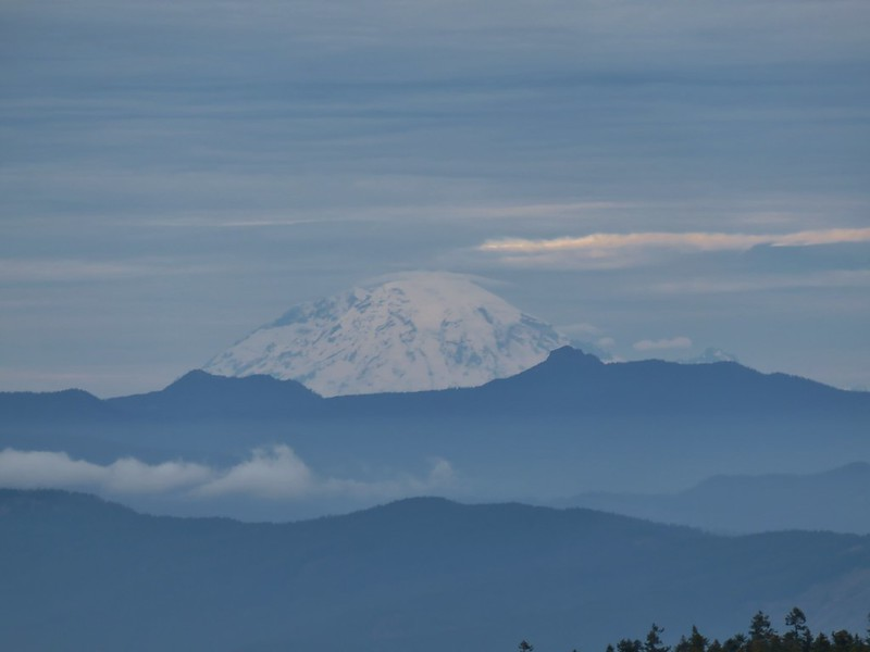 Mt. Rainier from Green Point Mountain