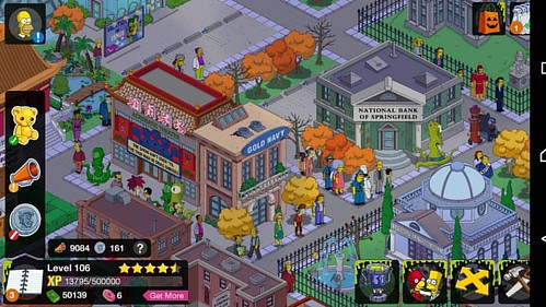 I love it when they're all in the same place.. #thesimpsons #tappedout #game