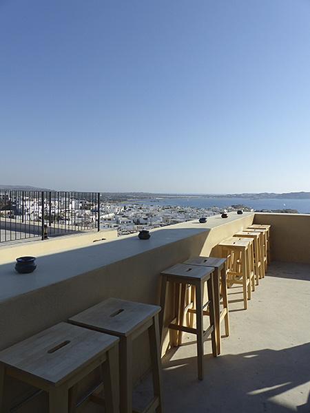 terrasse du 1739 Café, de jour