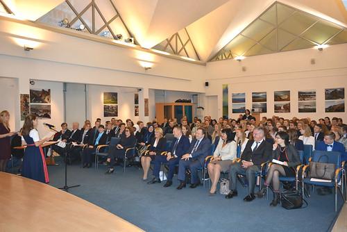 Открытие сессии модели Европарламента региона Балтийского моря